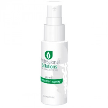 Сухой солнцезащитный спрей на масляной основе Dry Oil Sunblock Spray Professional Solutions 60ml