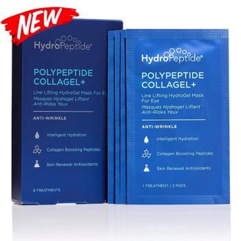 Гідрогелеві маски проти зморшок для зони навколо очей HydroPeptide 8патчів