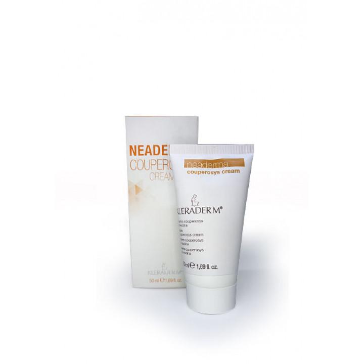 """Антикуперозный крем """"Неодерма"""" для всех типов кожи Neoderma couperosys cream Kleraderm 50ml"""
