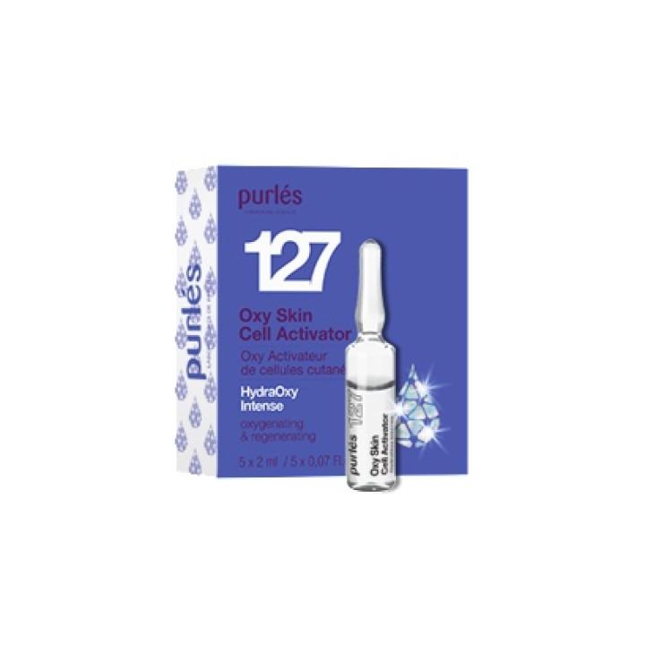 Кислородный клеточный активатор Oxy Skin Cell Activator N127 Purles,  5 ампул х 2мл