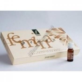 Косметическое массажное масло FEMINA  для лица и тела Ecomaat, 8 фл по 10 мл.