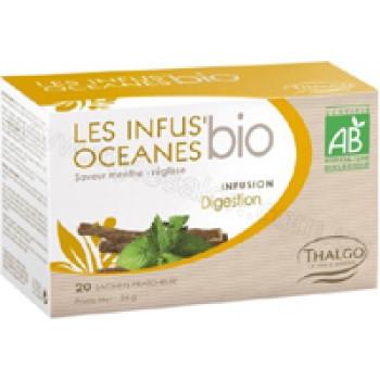 Травяной настой Океан пищеварение LES INFUS'OCEANES DEGESTION THALGO, 20 пакетиков