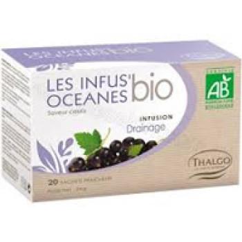 Травяной настой Океан дренаж LES INFUS'OCEANES DRAINAGE THALGO, 20 пакетиков