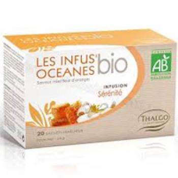 Травяной настой Океан расслабление LES INFUS'OCEANES SERENITE THALGO, 20 пакетиков