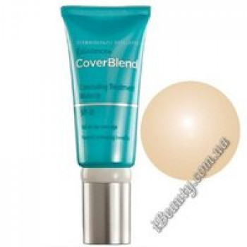 Маскирующий макияж SPF20 TRUE BEIGE - CoverBlend Concealing Treatment Makeup SPF-20 TRUE BEIGE, EXUVIANCE, 15 мл
