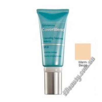 Маскирующий макияж SPF20 WARM BEIGE - CoverBlend Concealing Treatment Makeup SPF-20 WARM BEIGE, EXUVIANCE, 15 мл