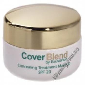 Маскирующий макияж SPF20 HONEY SAND - CoverBlend Concealing Treatment Makeup SPF-20 HONEY SAND, EXUVIANCE, 15 мл