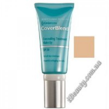 Маскирующий макияж SPF20 DESERT SAND - CoverBlend Concealing Treatment Makeup SPF-20 DESERT SAND, EXUVIANCE, 15 мл