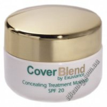 Маскирующий макияж SPF20 BLUSH  MAHOGANY - CoverBlend Concealing Treatment Makeup SPF-20 BLUSH  MAHOGANY, EXUVIANCE, 15 мл