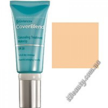 Маскирующий макияж SPF20 TRUE MAHOGANY - CoverBlend Concealing Treatment Makeup SPF-20 TRUE MAHOGANY, EXUVIANCE, 15 мл