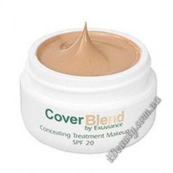 Маскирующий макияж SPF20 DEEP MAHOGANY - CoverBlend Concealing Treatment Makeup SPF-20 DEEP MAHOGANY, EXUVIANCE, 15 мл