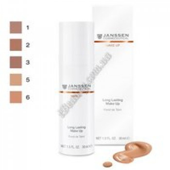 """Каппучино"" - Foundation ""cappucino"" Janssen Cosmetics, 30 ml"