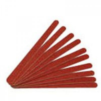 Пилки тонкие на картонной основе (коричневые узкие) Bellitas, 10 шт