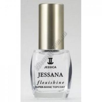 """Верхнее покрытие """"Супер-блеск"""" - Flexshine Super-Shine Topcoat Jessica, 14.8 мл"""