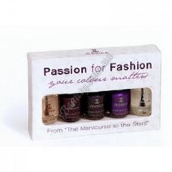 Набор лаков для маникюра (3 лака 7,4мл, Reward 7,4 мл, Brilliance 7,4мл) - Passion for Fashion Jessica, 5*7,4