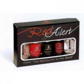 Набор лаков для маникюра (3 лака 7,4мл, Reward 7,4 мл, Brilliance 7,4мл) - Red Alert Jessica, 5*7,4