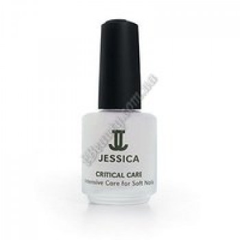 Интенсивное средство с протеиновым комплексом и кальцием для ослабленных ногтей - Mini Critical Care Jessica, 7,4 мл