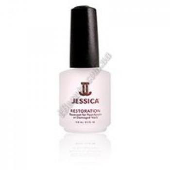 Базовое покрытие для поврежденных и пост-акриловых ногтей - Restoration Jessica, 14,8 мл