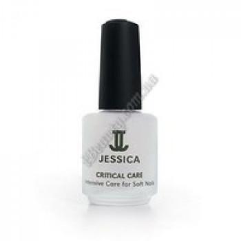 Интенсивное средство с протеиновым комплексом и кальцием для ослабленных ногтей - Critical Care Jessica, 60 мл