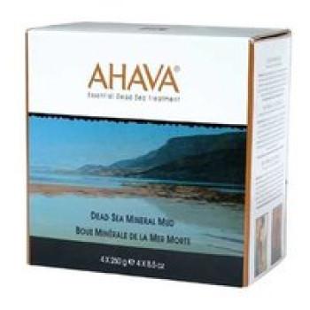 Грязь минеральная с алое - Ahava SPA Dead Sea Mineral Mud (4х250g)