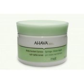 Молочко с ароматом сирени и зеленого яблока - Ahava SPA Body Sorbet Caress, 350 ml
