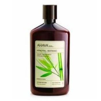 "Мягкий крем для душа ""Бамбук и Фиалка"" - Ahava Mineral Botanic Velvet Cream Wash Bamboo & Pansy, 500 ml"