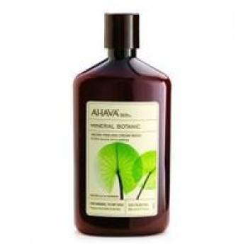 "Мягкий отшелушивающий крем для душа ""Кувшинка и Гуарана"" - Ahava Mineral Botanic Micro-Peeling Cream Wash Water Lily & Guarana, 500 ml"