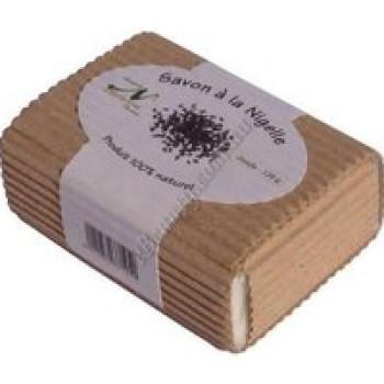 Мыло на основе масла нигелле (калинджи, черного тмина) для лица и тела Nectarome, 120 г