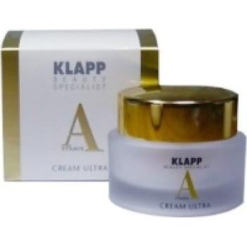 Питательный крем с ретинолом для зрелой кожи Klapp VITAMIN A Cream, 50ml