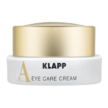 Питательный разглаживающий крем для зрелой кожи вокруг глаз с ретинолом Klapp Eye Care Cream VITAMIN A, 15ml