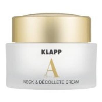 Омолаживающий крем для шеи и декольте с ретинолом Klapp Neck & Dekollete Cream VITAMIN A, 50ml