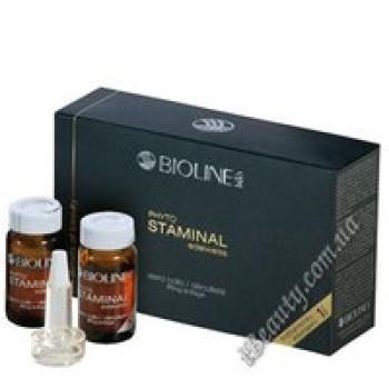 Сыворотка для укрепления кожи шеи и декольте PHYTO STAMINAL edelweiss - PHYTO STAMINAL edelweiss NECK DECOLLETE SERUM, Bioline JaTo, 2х8ml