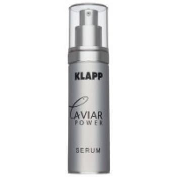 Энергонасыщающая сыворотка с экстрактом черной икры для зрелой кожи Caviar Power Serum от Klapp, 45ml