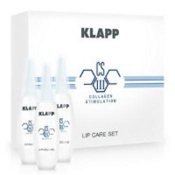 Набор по уходу за губами с коллагеном LIP CARE SET от Klapp, Набор (3x8мл)