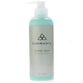 Стимулирующее, концентрированное, отшелушивающее, очищающее средство для всех типов кожи - Purity clean  Cosmedix, 240 ml