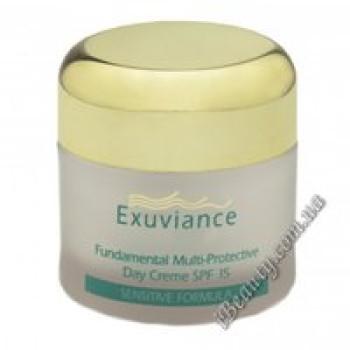 Дневной базовый защитный крем SPF 15 - Multi-Protective Day Cream SPF15 EXUVIANCE, 50 мл
