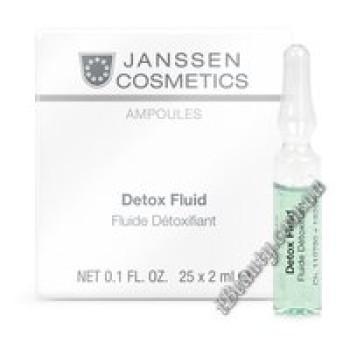 Детокс Флюид Detox Fluid Janssen, 25х2мл