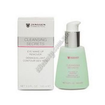 Очищ.ср-во для демакияжа глаз - Eye Make Up Remover Janssen Cosmetics, 100 ml
