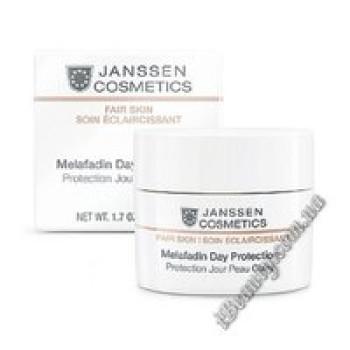 Дневной осветляющий крем SPF-20 Melafadin Day Protection Janssen, 50 ml
