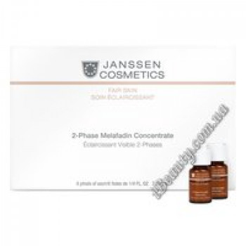 2-х фазный отбел.комплекс 2 Phase Melafadin Concentrate Janssen,