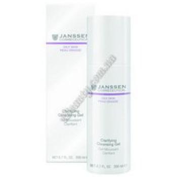Очищающий гель - Clarifying Cleansing Gel Janssen Cosmetics, 200 ml