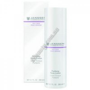 Тоник для жирной кожи - Purifying Tonic Lotion Janssen Cosmetics, 200 ml