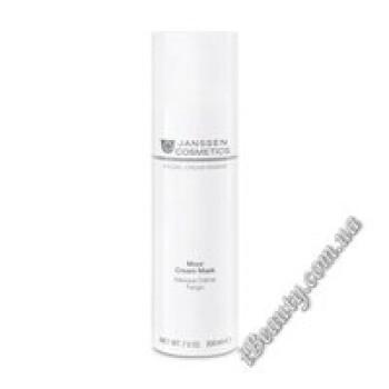 Торфяная маска для жирной кожи Moor Cream Mask Janssen, 200 ml
