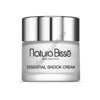 Укрепляющий  крем с изофлавонами для очень сухой кожи - Essential Shock Cream + isoflavones Natura Bisse, 75 мл