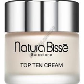 Дневной крем для лица с цитокинами  SPF 10 - Top Ten Cream Natura Bisse, 75 мл