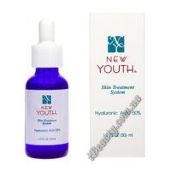 Гиалуроновая кислота 50% (нано) - Hyaluronic acid 50% New Youth, 30ml