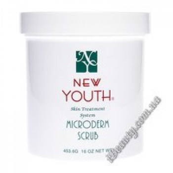 Скраб микродерм - Microderm Scrub NY Crystals New Youth, 453g