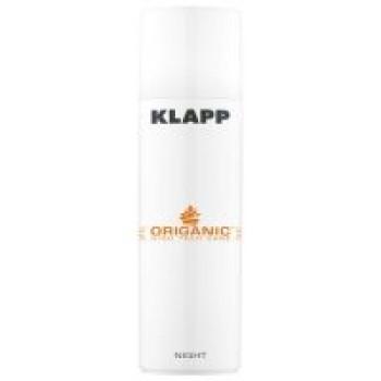 Ночной крем Органик - KLAPP Organic Night Cream, 50 мл