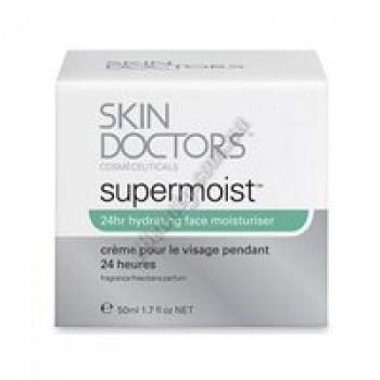 Крем для глубокого увлажнения кожи лица - Supermoist Face SKIN DOCTORS, 50 мл