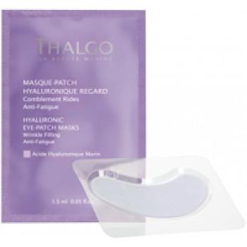 Гиалуроновая маска-компресс для контура глаз HYALURONIC EYE PATCH – MASK THALGO, 8шт в упаковке